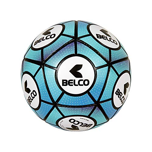 Belco Sports Official Blue PVC Football Size 5