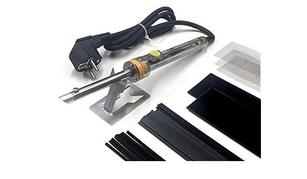 az-reptec Aparato de Soldadura SK60.0 ABS Completa - Soldadura de plásticos - Plástico reparación: Amazon.es: Coche y moto
