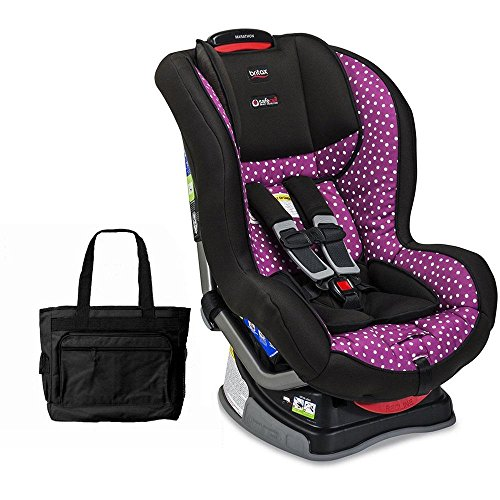 Britax Marathon G4.1 Convertible Car Seat - Confetti With Bonus Diaper Bag