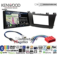 Volunteer Audio Kenwood Excelon DNX994S Double Din Radio Install Kit with GPS Navigation Apple CarPlay Android Auto Fits 2012-2013 Mazda 3