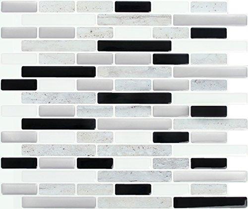 Peel & Impress Space Marble Adhesive Vinyl Wall Tiles (4 Pack), 11