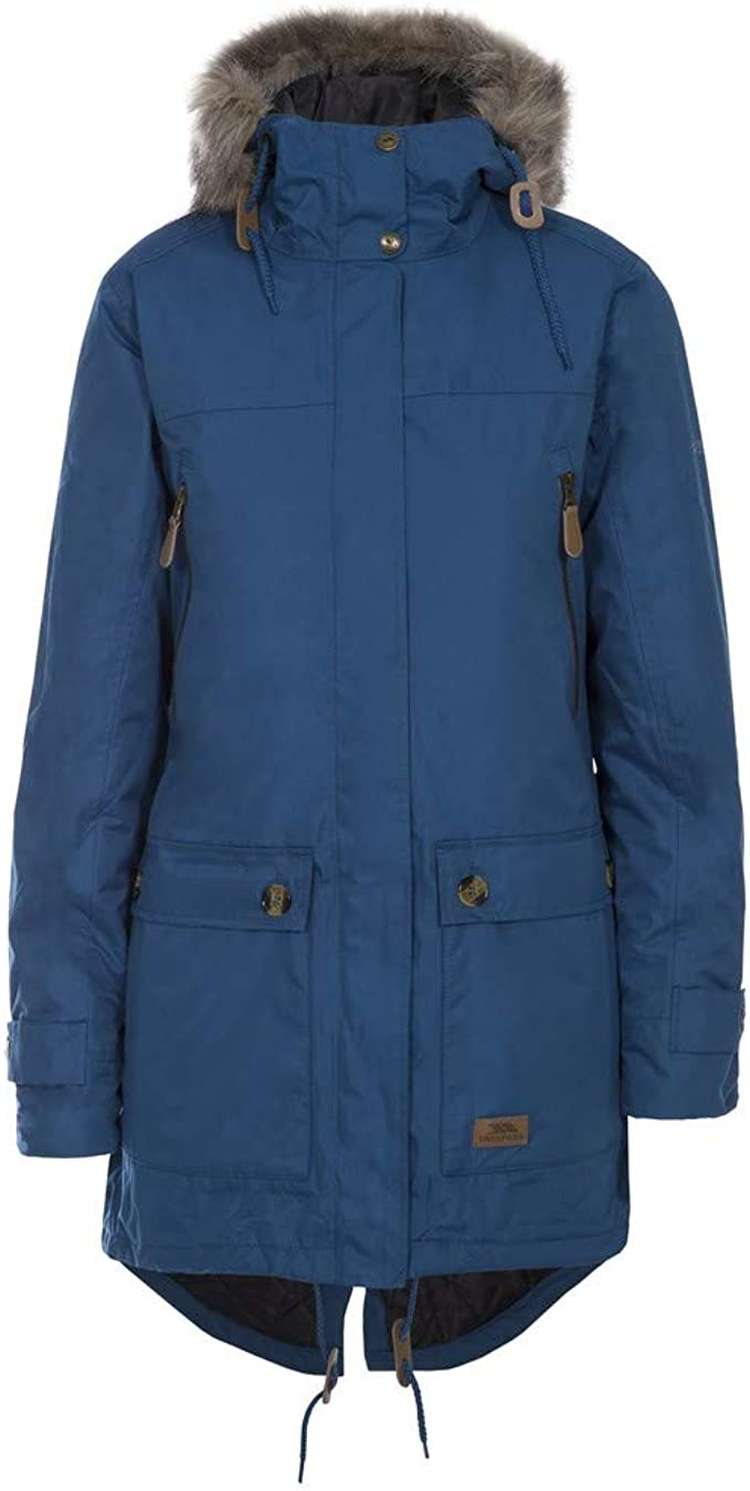 Trespass Womens Padded Jacket Hooded Windproof Waterproof Insulated Jacket