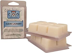 3 Pack Soy Highly Scented Wickless Candle Bar Wax Melts -Clean Laundry