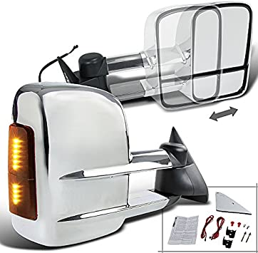 Spec-D Tuning RMX-C1088-M-ZM Towing Mirror