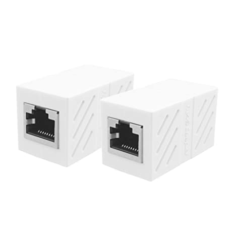 UGREEN Cat7 Cat6 Cat 5 RJ45 Network Connector Keystone Jack In-Line Coupler Female to Female with Thunder Protection 5 Pack