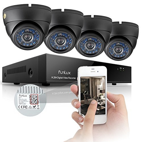 Funlux KS-Y84UH 8-Channel Surveillance Security Camera System