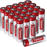 Tipsun 24 Pack AA Alkaline Batteries, 1.5V High Energy LR6 Dry Batteries Household Battery for Flashlight, Toys, Remote Control and Other Household Appliance