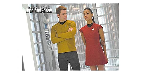Zoe Saldana Trading Card Star Trek Into Darkness 2013 Cbs