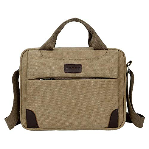 Bag Moontang For Khaki Cross Size Work Bags Unisex Shoulder Black Pack Travel Canvas Cieovo School Bag Casual Retro color Messenger Sling Satchel Fashion Body Vintage TqWwTSrX