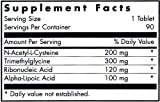 Nutricology Nac Enhanced Antioxidant Formula 90 Tablets Discount
