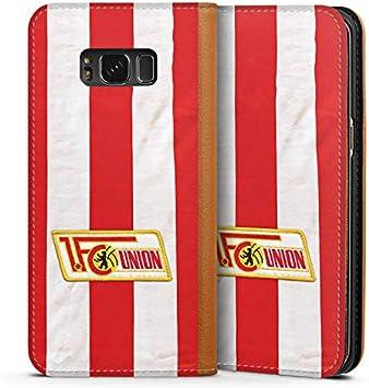 FC Union Berlin Fu/ßball DeinDesign Leder Flip Case kompatibel mit Samsung Galaxy S8 Tasche H/ülle Offizielles Lizenzprodukt 1