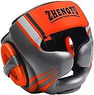 ZTTY Boxing Headguard MMA Training Protection Muay Thai Kickboxing Training Martial Arts