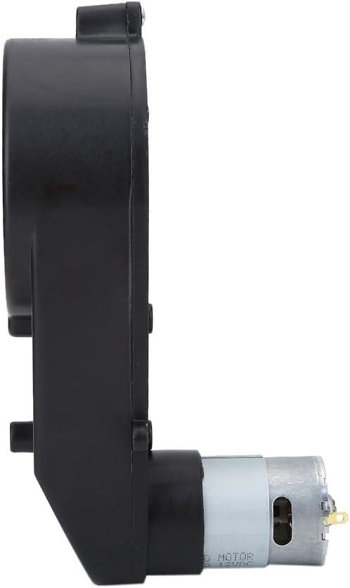 12V8000RPM 12V Caja de engranajes del motor el/éctrico de bajo ruido resistente al desgaste Caja de engranajes del motor el/éctrico para ni/ños Coche de juguete 6V