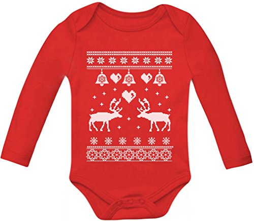 Reindeer Baby Long Sleeve