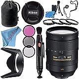 Nikon AF-S NIKKOR 28-300mm f/3.5-5.6G ED VR Lens 2191 + 77mm 3 Piece Filter Kit + 77mm Macro Close Up Kit + Lens Pen Cleaner + Fibercloth + Lens Capkeeper + Lens Cleaning Kit Bundle