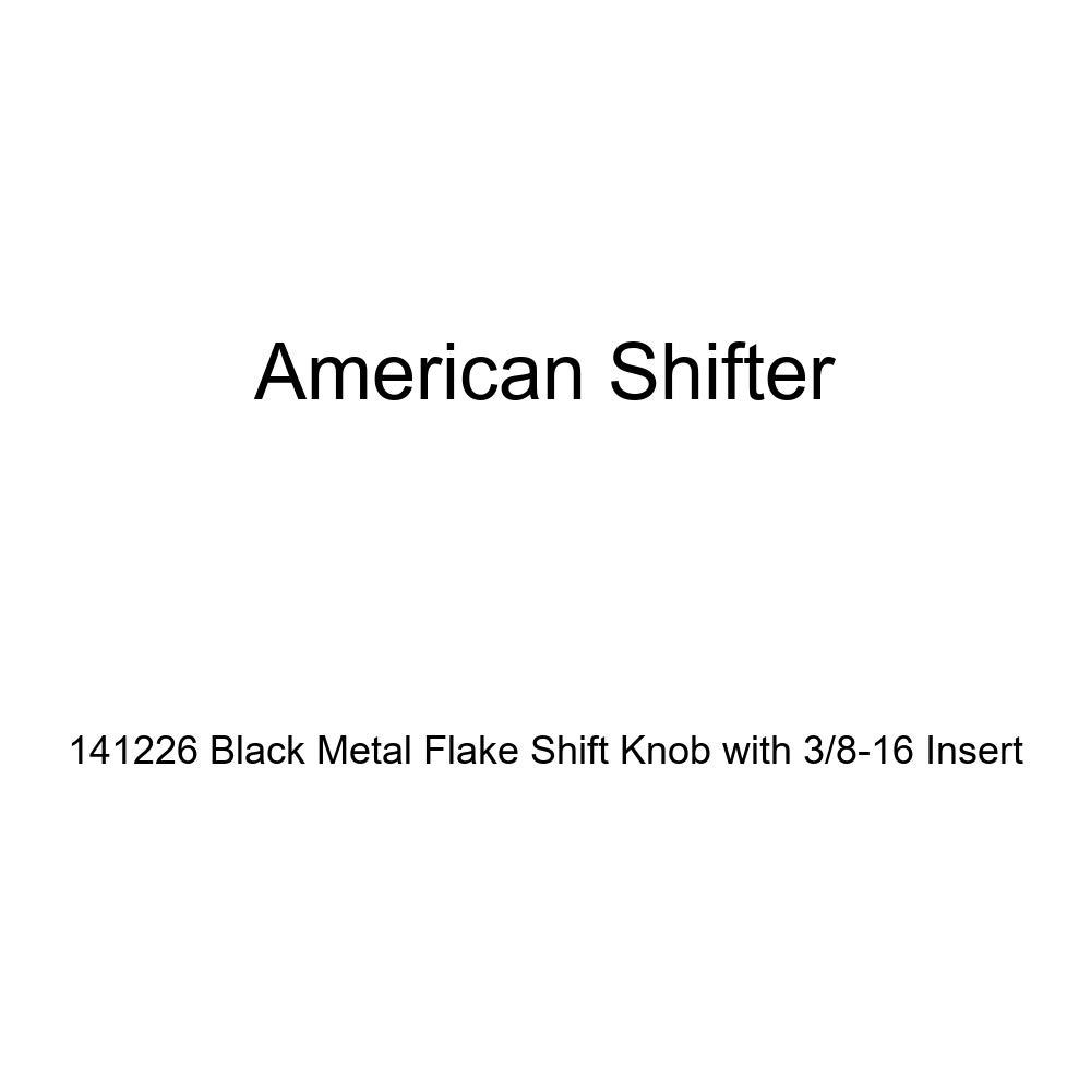 American Shifter 141226 Black Metal Flake Shift Knob with 3//8-16 Insert
