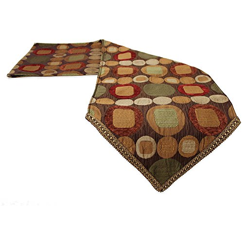 Sherry Kline Pattern (The Classic Sherry Kline Metro Spice 13-inch X 108-inch Table Runner)