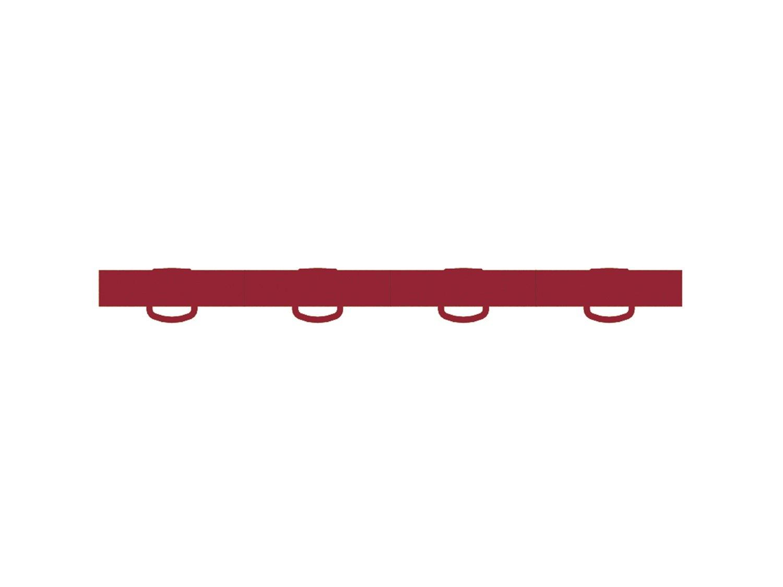 Pro Braking PBR2804-ORA-RED Rear Braided Brake Line Orange Hose /& Stainless Red Banjos