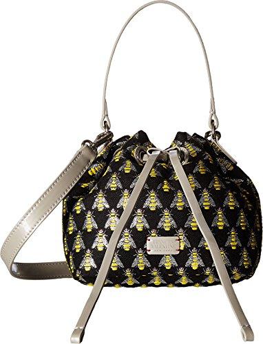 Frances Valentine Women's Small Ann Jacquard Bucket Bag Multi/Silver Handbag