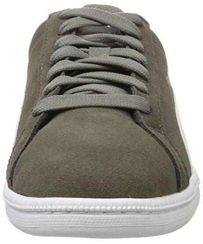 Puma Unisex-Kinder Smash Funsd Jr Sneaker Grau (steel gray-white)