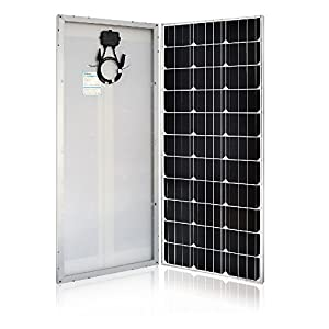 51Jr4YxOZEL. SS300  - Renogy 100 Watt 12 Volt Monocrystalline Solar Panel (Slim Design)