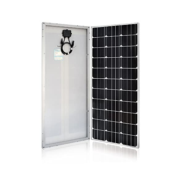 51Jr4YxOZEL. SS600  - Renogy 100 Watt 12 Volt Monocrystalline Solar Panel (Slim Design)