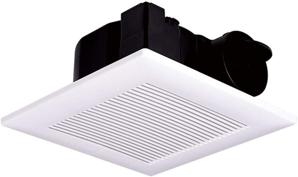QIQIDEDIAN Extractor 30x30 Integrado Ventilador de ventilación de Techo baño Fuerte Tipo de Techo silencioso pánel de Yeso: Amazon.es: Hogar