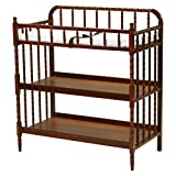 Cherry Wood Crib with Changing Table DaVinci Jenny Lind Changing Table, Rich Cherry