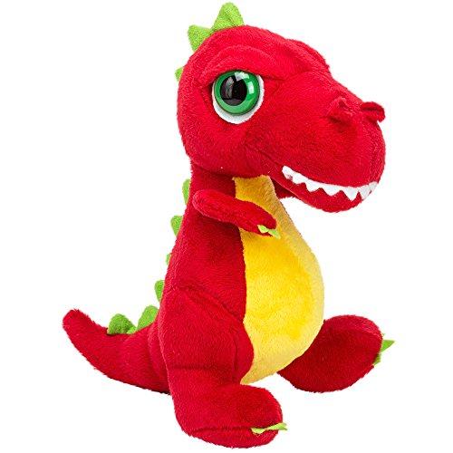 Suki Gifts - 14373 - Peluche - Dinoz - T-Rex, Rouge, Taille M