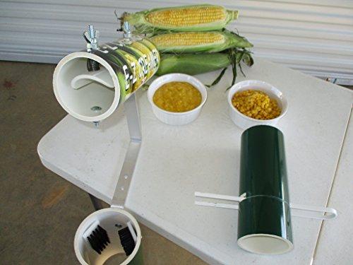 Corn Cutter Tool- EZ Creamer and Corn Sheller (Corn On The Cob Easy Silk Removal)