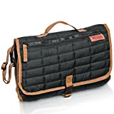 #9: MAMAN Portable Changing Pad Station - Waterproof Cushioned Diaper Changing Mat Organizer for Baby Boys and Girls