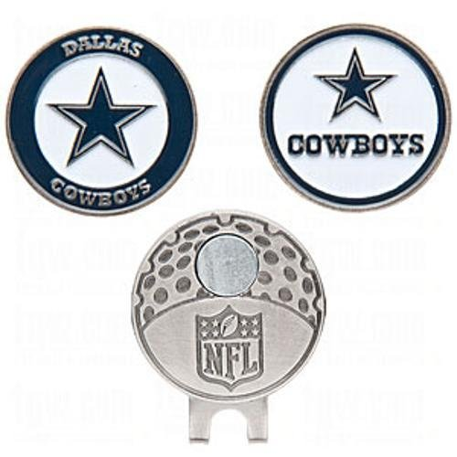 Dallas Cowboys Golfer's Hat Clip & Ball Markers