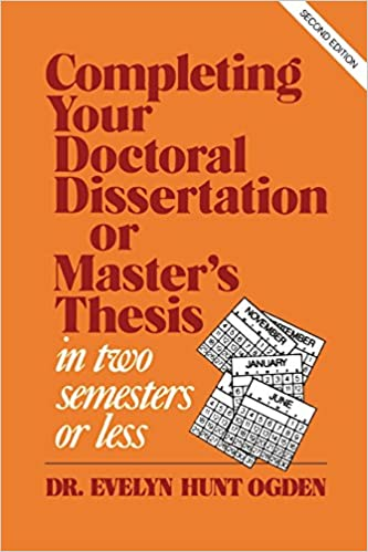 Purchase a dissertation prospectus