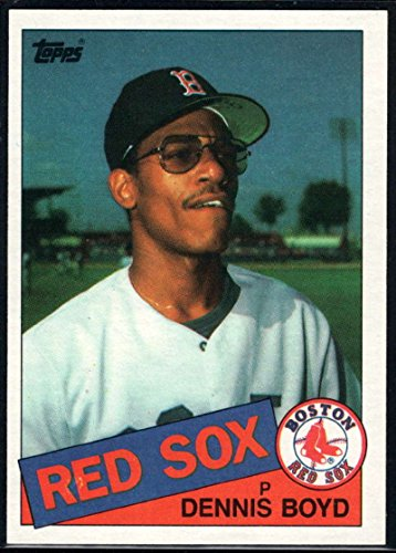 1985 Topps Baseball #116 Oil Can Boyd Boston Red Sox Official MLB Trading Card (stock photos used) Near Mint or better ()