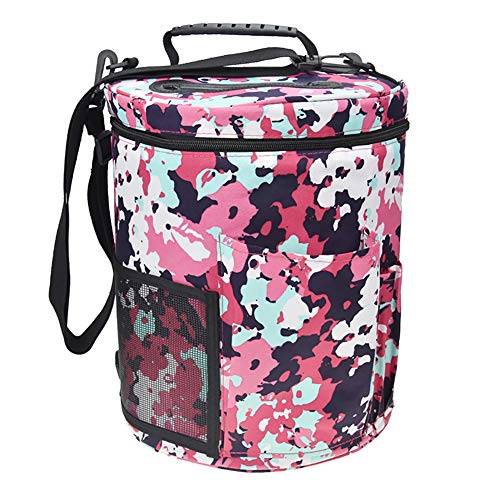 Utility Knitting Bag Yarn Storage, Durable Yarn Organizer Crochet Bag, Enjoy Outdoor Knitting Crocheting Yarn Storage Bag Protect Yarn and Prevent Tanglin (6#) by Hersent (Image #1)
