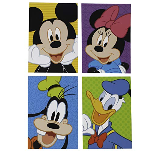 Hallmark Birthday Cards Assorted Boxed Set (Disney Characters Assortment, Pack of 12 Cards with Envelopes)