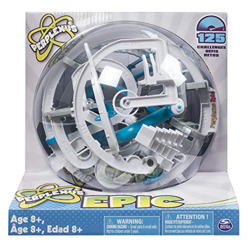 Spin Master Games Perplexus Epic Interactive Maze Game with 125 Obstacles