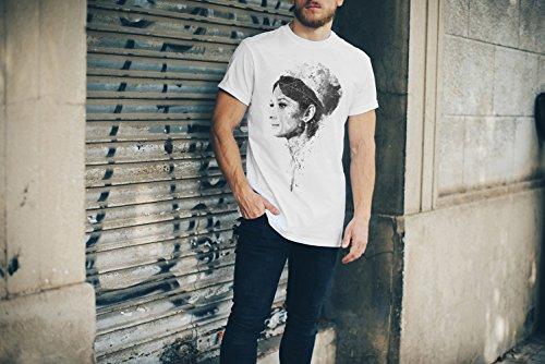 Audrey Hepburn III T-Shirt Herren, Men mit stylischen Motiv von Paul Sinus