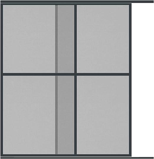 empasa - Mosquitera para puerta doble (230 x 240 cm), negro: Amazon.es: Bricolaje y herramientas