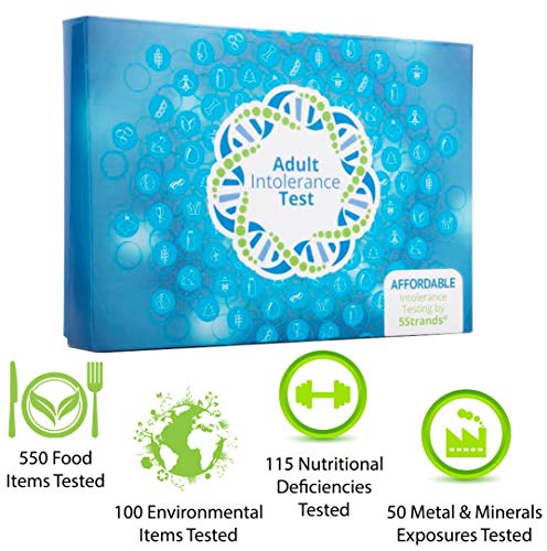5Strands | Home Test Kit | Food & Environmental Intolerance | Nutritional Deficiencies | Metal & Mineral Exposure | Test 815 Total Items | Hair Analysis | Results in 1-2 Weeks | Adult Deluxe Test