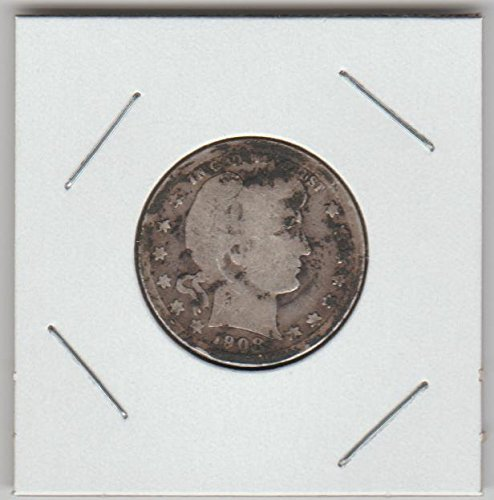 1908 Barber Quarter Good