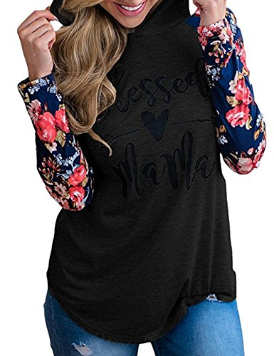 Long Sleeve Print Pullover - 6