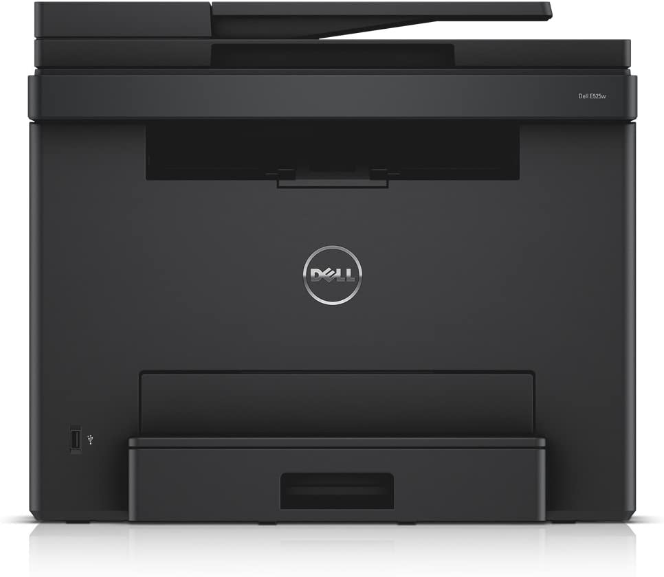 Dell E525W Wireless Color Printer with Scanner Copier & Fax