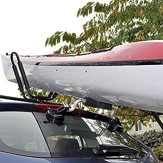 Rodillo carga kayak con ventosas 2