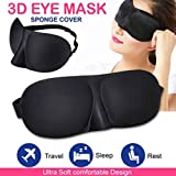 LiPing 3D Beauty Sponge Light Blocking Sleep Mask Padded Shade Cover Travel Relax Aid Remove Dark Circles Under Eye -Most Effective Anti-Aging from (C)