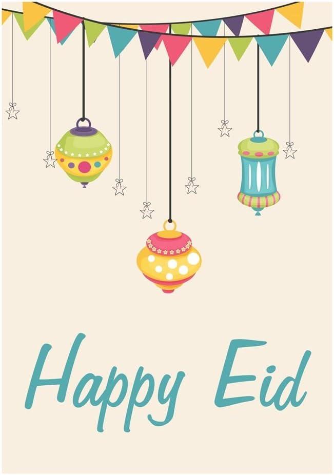 Zaffron Eid Holiday Gift Card Holders Lanterns Design 10 pack