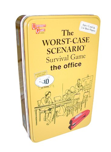 The Worst-Case Scenario Survival Card Game (THE OFFICE) -