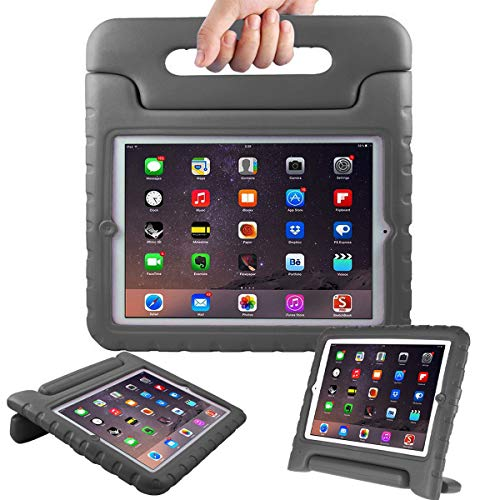 AVAWO Kids Case for Apple iPad 2 3 4 - Light Weight Shock Proof Convertible Handle Stand Kids Friendly for iPad 2, iPad 3rd Generation, iPad 4th Generation Tablet - Black