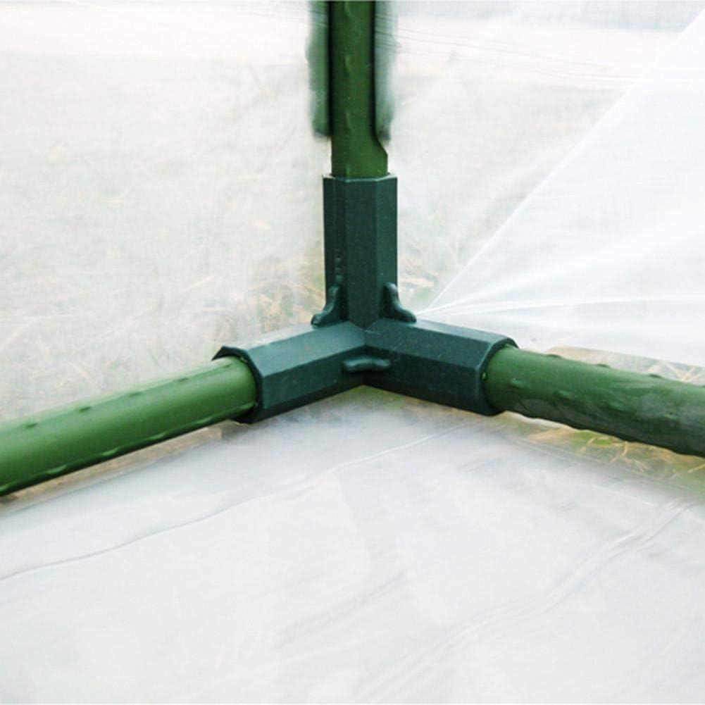 5 Typen yummyfood Steckverbinder F/ür Gew/ächshaus 16 MM PVC Verbinder Stabil Schlauchadapter Geradeverbinder Gew/ächshaus Rahmen Rohr