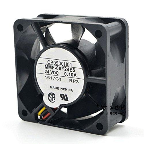 CA1638H01 DC 24V 0.1A 6025 6CM 606025mm 3 Wires MMF-06F24ES Low Power Inverter Cooling Fan by Z.N.Z (Image #1)